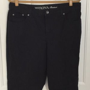 Merona black pant size 14L